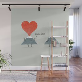I Lava You Wall Mural