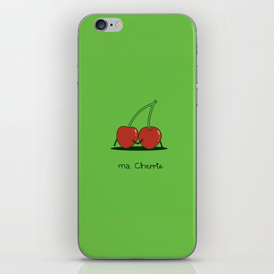 Ma Cherrie iPhone & iPod Skin