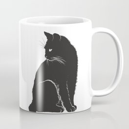 Cat Mom Life | Witchy Cats | Black Cats Are Good Luck Coffee Mug
