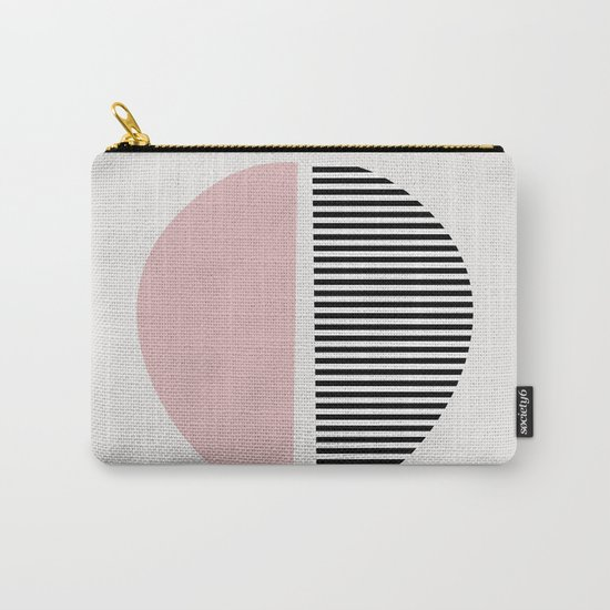 Minimalist Abstract Carry-All Pouch