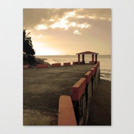 Aguada Pico de Piedra Canvas Print