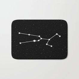 Taurus Star Sign Night Sky Bath Mat
