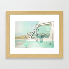 Retro Drive Framed Art Print