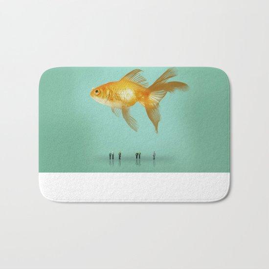 BALLOON FISH  III Bath Mat