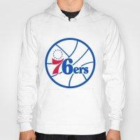 nba Hoodies featuring NBA - 76ers by Katieb1013