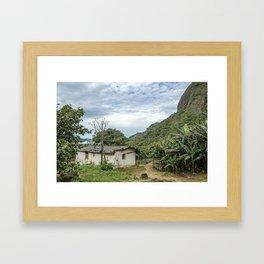 hovel Framed Art Print