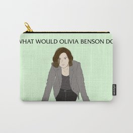 What Would Olivia Benson Do? Carry-All Pouch