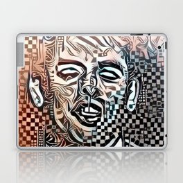 Abstract Brel Laptop & iPad Skin