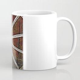 Weathered Wagon Wheels Coffee Mug