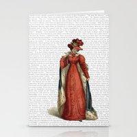 pride and prejudice Stationery Cards featuring Pride & Prejudice by Studio Fibonacci