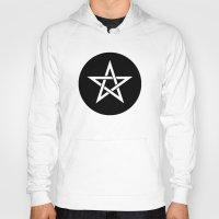 pentagram Hoodies featuring Pentagram Ideology by ideology