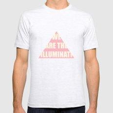 Illuminati Mens Fitted Tee Ash Grey SMALL