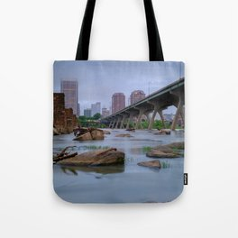 Richmond Cityscape from the James Tote Bag