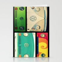vw Stationery Cards featuring VW Collage by RDelean