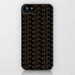 Racing Bicycle Pattern iPhone Case