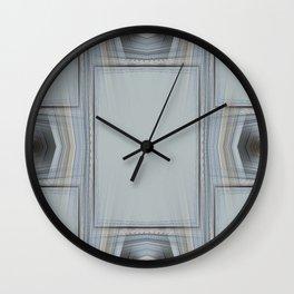 Brown and Grey Tones of Eucalyptus 3 Wall Clock