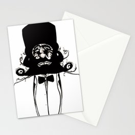 """""""Mustachat"""" Stationery Cards"""