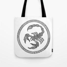 Zodiac Sign Scorpio Tote Bag