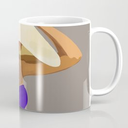 At The Beach: Blue Suit Coffee Mug