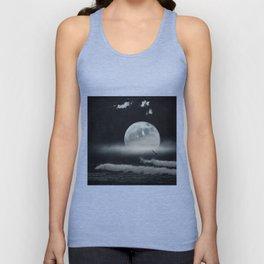moon-lit ocean Unisex Tank Top