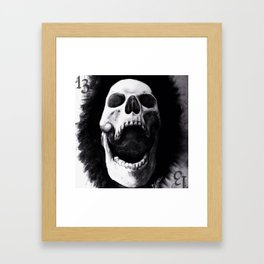 chared Framed Art Print