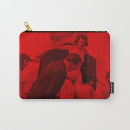 Salvador Dali with Women forming skull Setup (Photographic Art) Carry-All Pouch