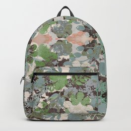 Abstract Floral Garden Backpack