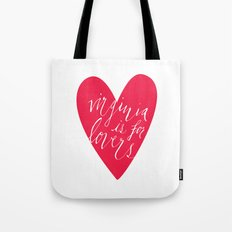 Virginia is for Lovers Tote Bag
