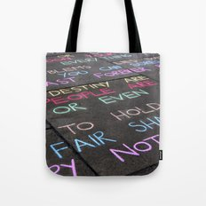 People are lazy Tote Bag