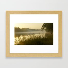The James River Landscape Framed Art Print