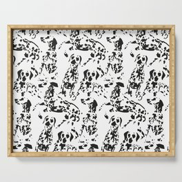 DALMATIAN / pattern pattern Serving Tray