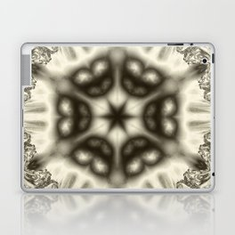 Sepia jewelled kaleidoscope splendor Laptop & iPad Skin