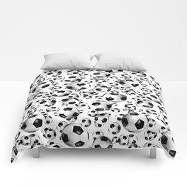 3D look soccer balls pattern Comforters