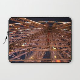 Blackpool - a blur Laptop Sleeve