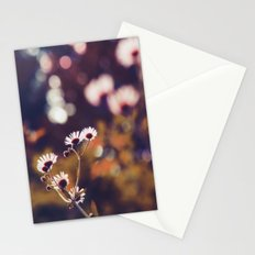 Tiny floral dreams of light Stationery Cards