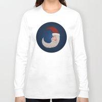 santa Long Sleeve T-shirts featuring Santa  by Brandy Coleman Ford