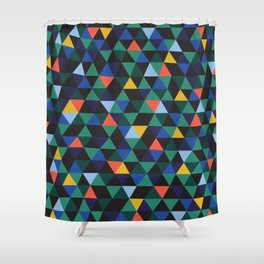 Old Hype Shower Curtain