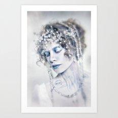 The Arctic Queen Art Print