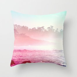 Summer on the Coast Throw Pillow