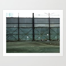 Empty Warehouse Art Print