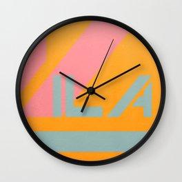"Vila Madalena - Series ""Districts of São Paulo"" Wall Clock"