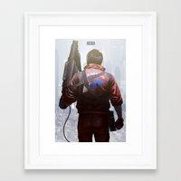 akira Framed Art Prints featuring Akira by ImmarArt
