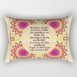 Brother Sun Rectangular Pillow
