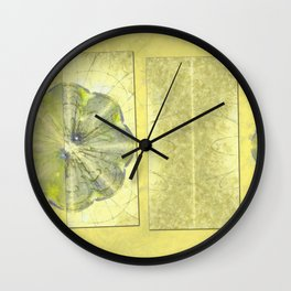 Unpinning Unprotected Flowers  ID:16165-042420-57641 Wall Clock