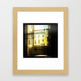 Window In a Window Framed Art Print