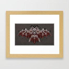 Mecha Bat Framed Art Print