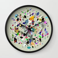 breaking Wall Clocks featuring Breaking Free by Angelo Cerantola