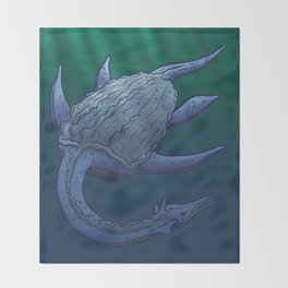 Leviathan Throw Blanket