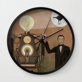 Magician and Machine Wall Clock