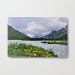 God's Country - III, Alaska Metal Print